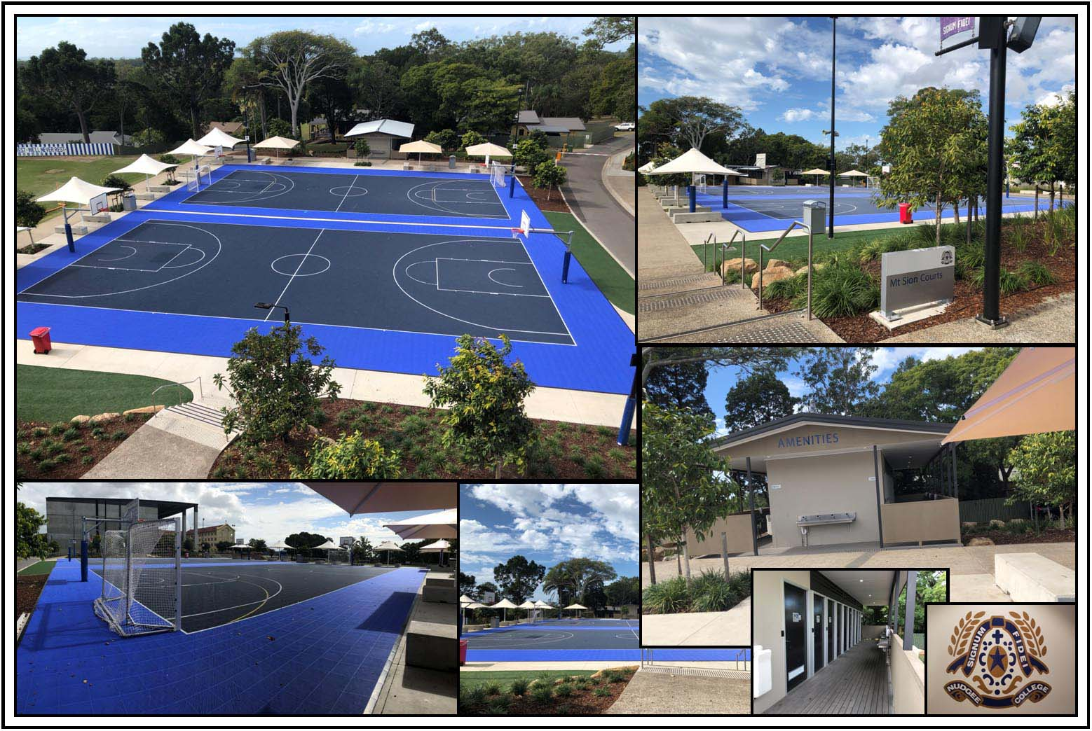 Mt Sion Courts by Kleva Konstructions.